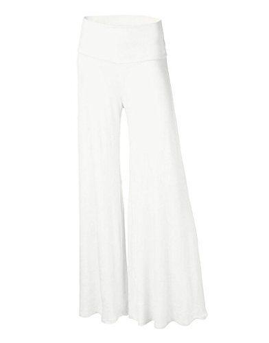 ZKOO Donne Yoga,Danza,Sport & Tempo Libero Larghi Pantaloni Comodi Larghi del Piedino Corno di Moda per XL