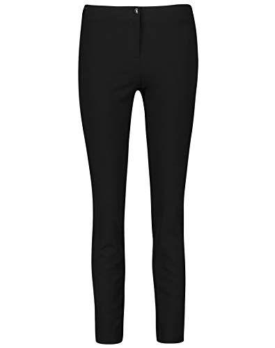 weber gerry weber edition 92351-67905 pantaloni, nero (schwarz 11000), 50 (taglia produttore: 44r) donna