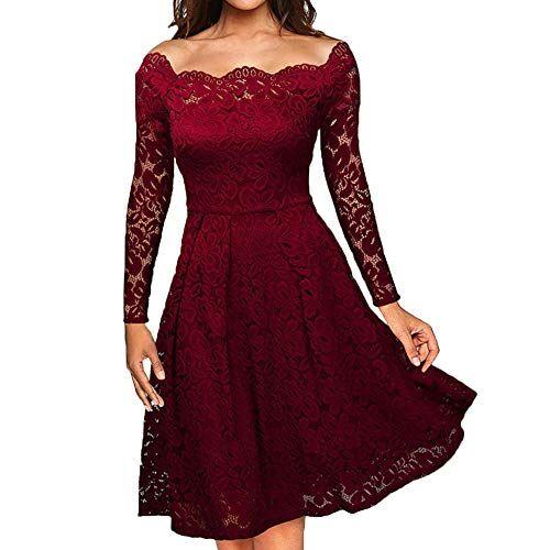 BaZhaHei Giacca Donna Maglioni Donna Pizzo Maglione Maglia Maniche Lunghe Vestito Corto Elegante Casual Moda Pullover Vestiti Donna Invernali