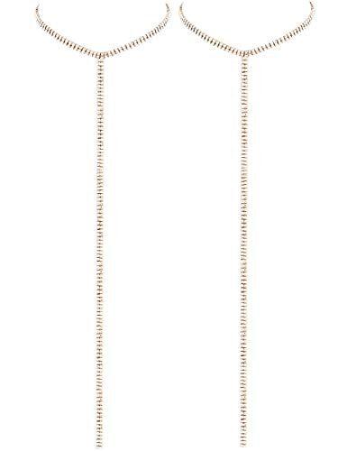 LATH.PIN Collana Girocollo da Donna Moda Accessori di Gioielleri Collana Set Necklace Club Jewelry Regalo per Natale Anniversario (Set 2 E)