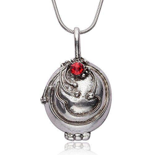orion creations diario dei vampiri medaglione d'argento antico
