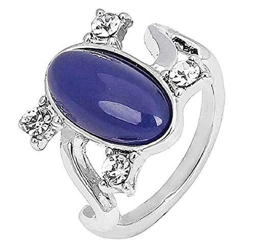 lovelegis anello - anellino vampire diaries da donna - diario di un vampiro - elena gilbert - colore argento - misura it 16