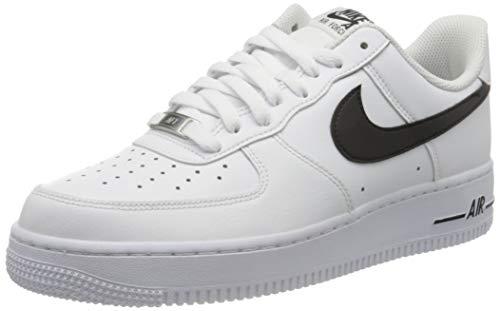 Nike Air Force 1 '07 AN20, Scarpe da Basket Uomo, White/Black, 46 EU