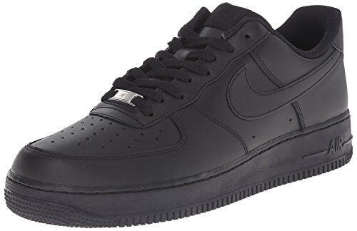 Nike Air Force 1 '07, Scarpe da Ginnastica Uomo, Nero, 38.5 EU