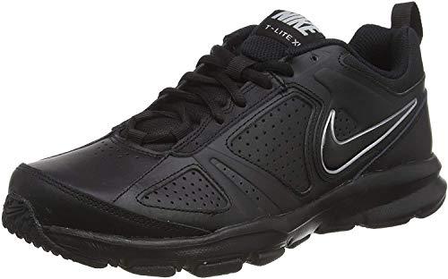 Nike T-Lite XI, Scarpe da Ginnastica Uomo, Nero (Black/Black-Metallic Silver), 46 EU (11 UK)
