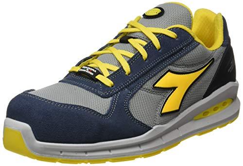 diadora utility diadora - scarpa da lavoro bassa run net airbox low s1p src per uomo e donna (eu 47)