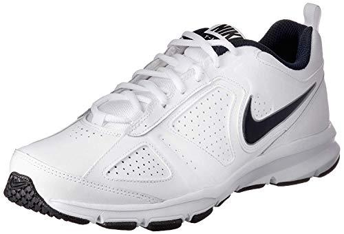 Nike T-Lite XI, Scarpe da Ginnastica Uomo, Bianco (White/Obsidian/Black/Metallic Silver 101), 46 EU (11 UK)