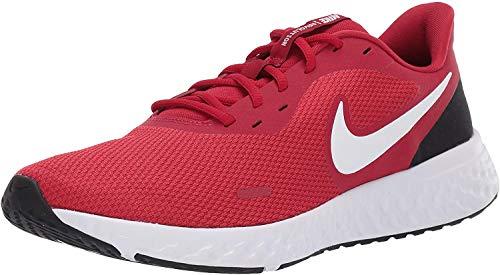 Nike Revolution 5 U Scarpe da Corsa, Uomo, Rosso/Bianco (Gym Red/White/Black 600), 45.5 EU