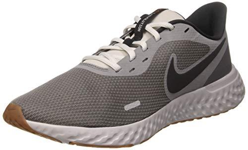 Nike Revolution 5 U Scarpe da Corsa, Uomo, Grigio, 43 EU