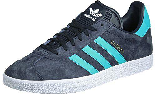 adidas gazelle, scarpe running unisex adulto, blu (legend ink/energy blue/footwear white), 39 1/3 eu