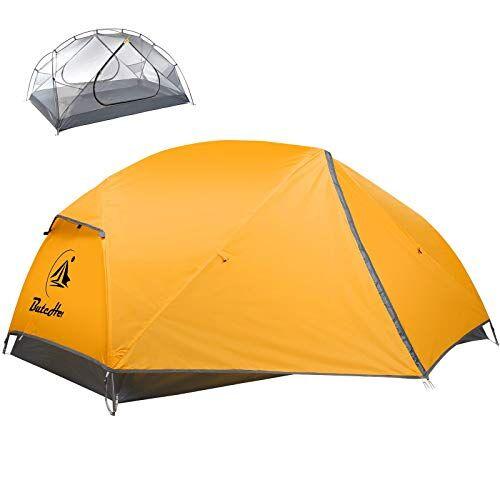 butcher tenda campeggio 2 posti con impermeabile and 100% anti uvdue porte tenda con borsa per il trasporto facile da montare, tende per zaino in spalla per viaggi di coppia, escursioni outdoor