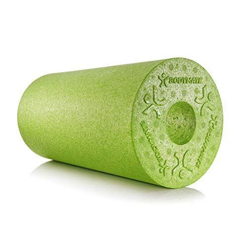 bodymate foam roller standard medio-duro lunghezza 30 cm diametro 15 cm con ebook gratuito - foam roller professionale in vari colori e misure