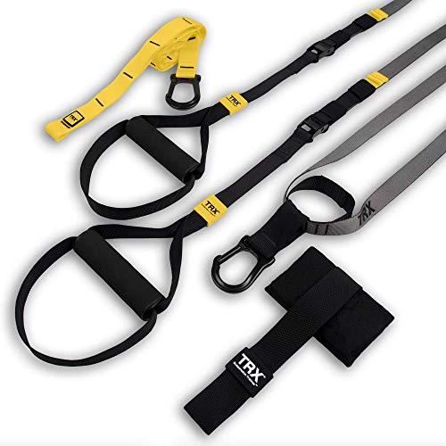 trx training: go suspension trainer kit, il pi leggero e snello suspension trainer di sempre: perfetto per il viaggio e per gli allenamenti al chiuso e all'aperto (nero)