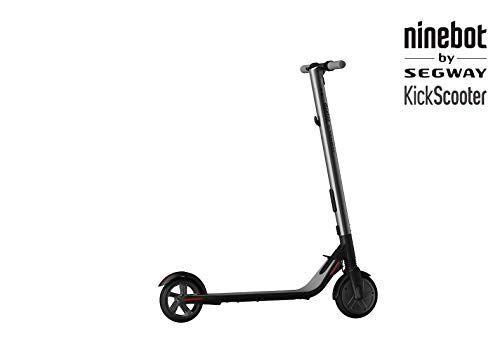 Ninebot by Segway ES1 Monopattino Elettrico Pieghevole, velocit massima 20km/h, Autonomia 25km, Nero