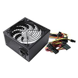 Ewent EW3905 Alimentatore Pprofessionale ATX 2.3 per PC 600W con PFC, Silenziosa Ventola da 14 cm, Nero