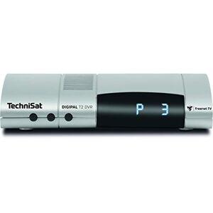 TechniSat Digipal T2/C DVR HDTV - Ricevitore cavo DVR, con gestione della lista dei programmi ISIPRO, Auto Install, pronto per la ricezione di DVB-T2 HD, campeggio, 12 Volt, DVRready), argento
