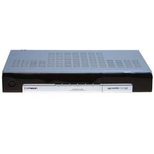 Octagon Ottagono SF-1018 Digitaler Twin-Satellite-ricevitore (sistema operativo Linux, 2 x Conax-lettore di schede, PVR-pronto, HDMI, 2,0 USB) argento