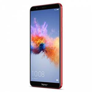 "Honor 7X Hybrid Dual SIM 4G 64GB Black, Red - Smartphones (15.1 cm (5.93""), 64 GB, 16 MP, Android, 7.0 + EMUI 5.1, Black, Red)"