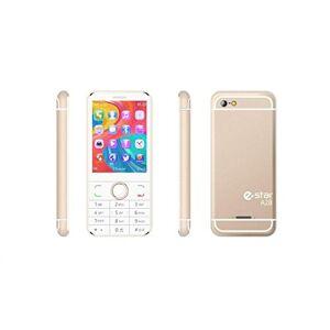 Helvei A28 Telefono a Tasti Dual Sim, Oro