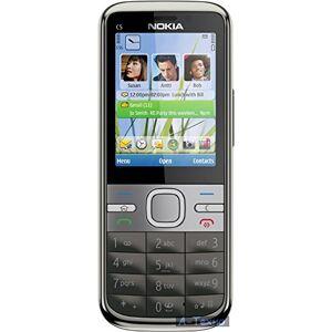 """Nokia C5 5,59 cm (2.2"""") SIM singola Grigio, Bianco 1050 mAh"""