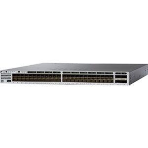 Cisco Systems catalyst 3850 48 port 10g fiber switch ip base en