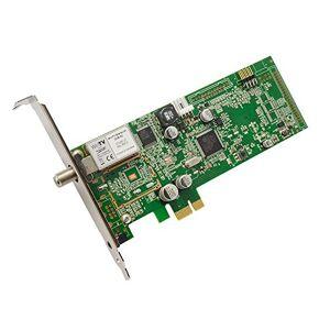 Hauppauge 1461 WinTV Starburst Scheda Satellitare con Sintonizzatore, DVB-S e DVB-S2 HD TV, Sintonizzatore Radio per PC, Nero/Antracite