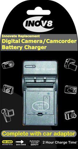 inov8 inov-8 bc1100 caricabatteria da auto nero carica batterie