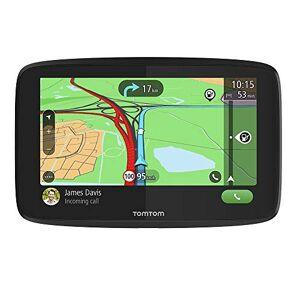TomTom Navigatore Satellitare per Auto GO Essential 6, Traffico, Tutor e Autovelox di Prova, Mappe Europa, Aggiornamenti Tramite WiFi, Chiamate in Vivavoce, Supporto Reversibile Magnetico, 6 Pollici
