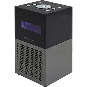 Soundmaster UR210AN  Radio (orologio, digitale, DAB+, FM, UKW, LCD, 3,5 mm, antracite, nero)