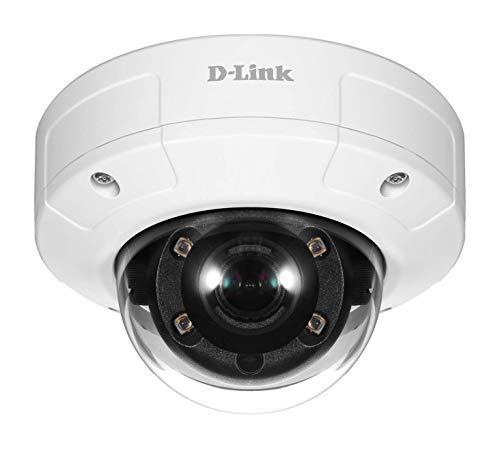 D-Link Vigilance - Telecamera di sorveglianza per esterni, antipolvere, impermeabile, anti-vandalismo