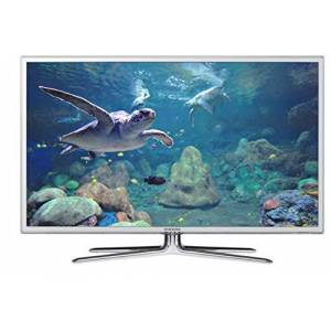 "Samsung UE40D6510WQ TV LCD 3D 40"", colore: Bianco (+2 paia di occhiali 3D)"