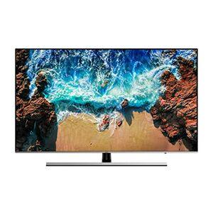 Samsung UE55NU8000 Smart Tv, Nero/Argento