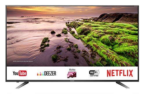 sharp smart tv  lc-60ui7652e uhd 4k da 60'', suono harman kardon