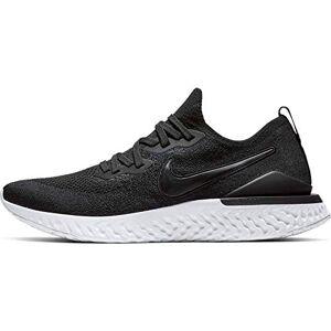 Nike Epic React Flyknit 2 - Scarpe da ginnastica, taglia 7, colore: Nero/Grigio fumo