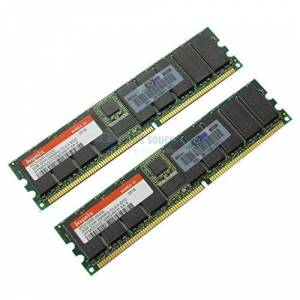 HP 4gb Proliant Ml370g3,Dl560/585 /380g3/360g3, Blade (2 X 2gb) 4096mb Pc2100 (2 X 2048mb) Per Server Proliant Ml370g3, Dl360g3, Dl380g3, Dl560, Blade Bl20p G2, Dl585, Blade Bl20p G2/Bl30p/Bl40p