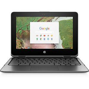 "HP Chromebook x360 11 G1 EE 1.1GHz N3350 11.6"" 1366 x 768Pixel Touch screen Nero Chromebook"