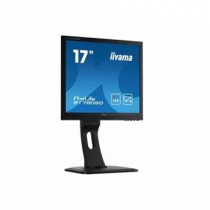 "IIYAMA ProLite B1780SD-B1 43cm (17 "") LED-Monitor SXGA (VGA, DVI, Regolabile in altezza, Pivot) Nero"