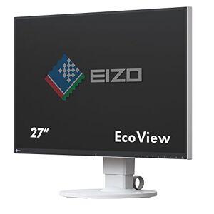 Eizo EV2750-WT - Monitore LCD 68,5 cm (27 pollici), DVI, HDMI, USB 3,0, 5ms tempo di reazione, Bianco