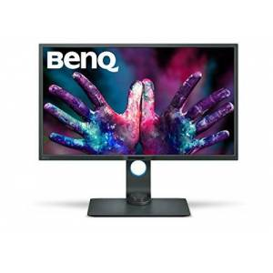 BenQ PD3200Q Monitor per Designer 32 Pollici QHD, Modalit Darkroom, CAD/CAM, Funzione KVM Switch