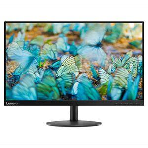 """Lenovo L24e-20 Monitor, Display 23.8"""" Full HD Bordi ultrasottili, Risoluzione 1920x1080, 4 ms, HDMI, VGA, Contrasto 1000:1, Black"""