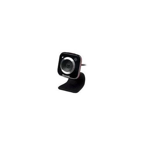 Microsoft LifeCam VX-5000 1.3MP 640 x 480Pixel USB Nero, Rosso webcam
