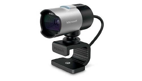 Microsoft LifeCam Studio webcam 1280 x 720 Pixel USB 2.0 Nero, Argento