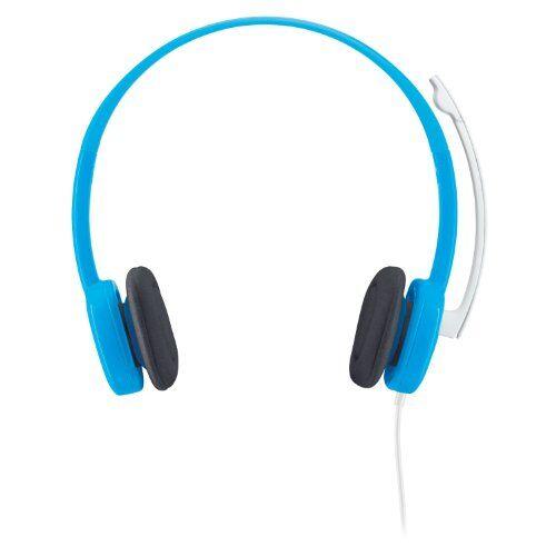 Logitech H150 Cuffia Audio, Blueberry