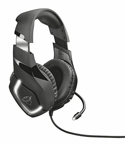 Trust Gaming GXT 380 Doxx Cuffie Gaming, Nero