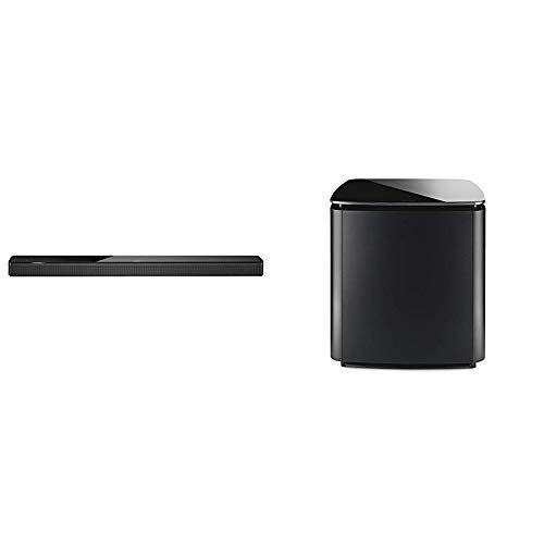 Bose Soundbar 700, Bluetooth, Wi-Fi, Nero + Bass Module 700, Wireless, Nero