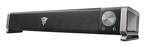 Trust Gaming GXT 618 Asto Soundbar per PC e TV, 12 W, Nero