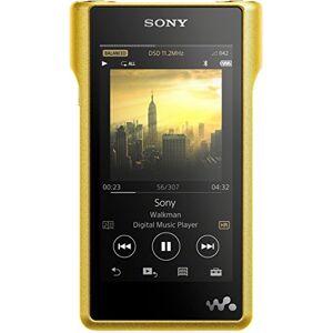 Sony , (NWWM1Z) walkman ad alta risoluzione, 256GB di memoria, slot Micro SD, amplificatore S Master HX, struttura in rame, display LED LCD Multi-Touch da 10,2 cm (4), oro