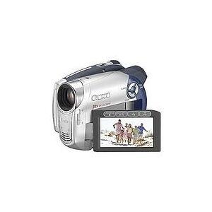 Canon DC 201 0,8 MP CCD Videocamera palmare Nero, Argento