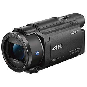 Sony FDR-AX53 - Videocamera 4K Ultra HD con Sensore CMOS Exmor R, ottica Grandangolare Zeiss 26.8 mm, Zoom Ottico 20x, Stabilizzazione attiva a 5 assi (Nero)