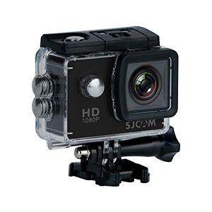 SJCAM SJ4000 - Videocamera sportiva (LCD, 2 pollici, 1080p, 30 fps, subacquea), colore nero (Ricondizionato)